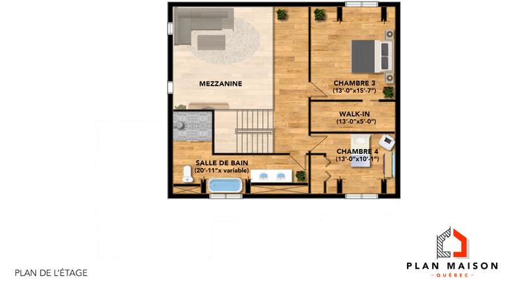 plan de maison avec garage capitale-nationale