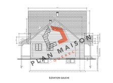 plan de maison avec garage chambly