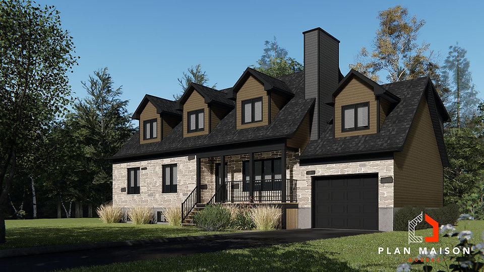 maison 2 etage avec garage terrebonne