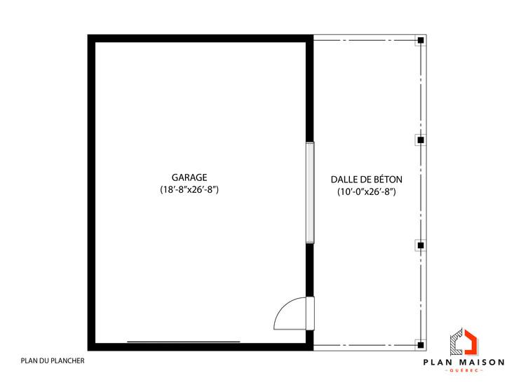 plan garage boisbriand