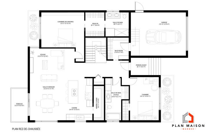 plan de maison avec garage repentigny