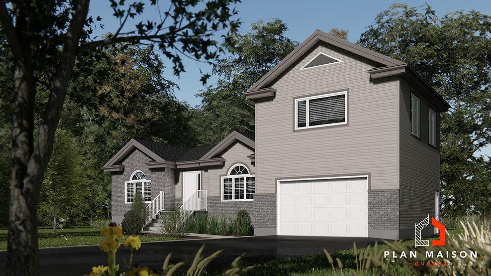 plan de maison avec garage beloeil