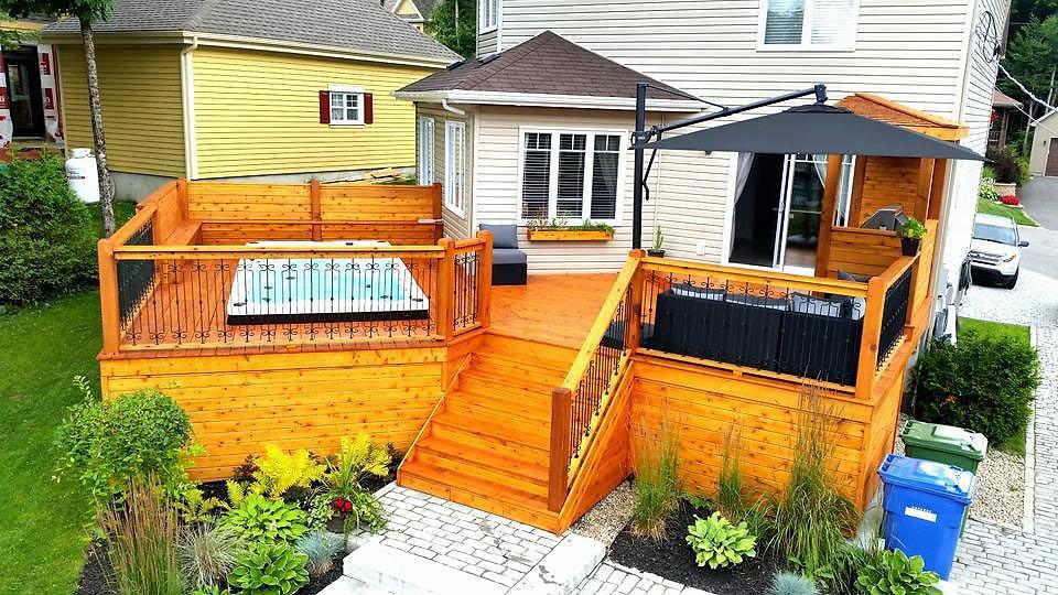 constructeur de terrasse