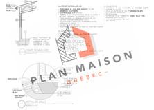plan de chalet moderne monteregie