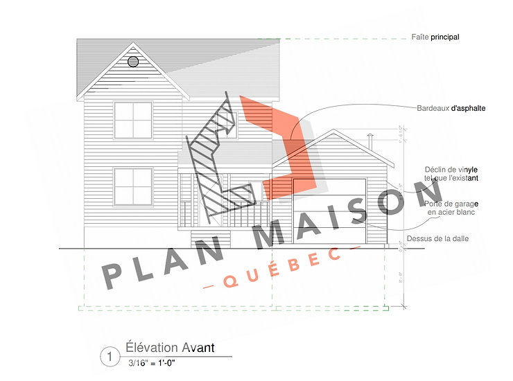 plan de maison avec garage bas-saint-laurent