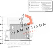 plan de maison 2 étages levis