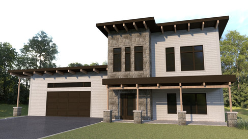 maison moderne monteregie