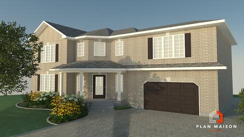 maison 2 etage avec garage longueuil