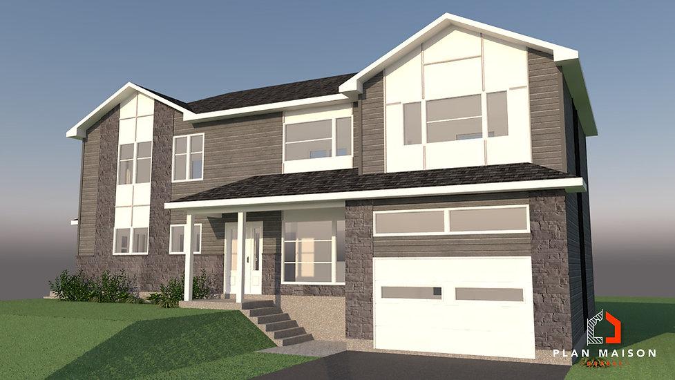 maison 2 etage avec garage laval