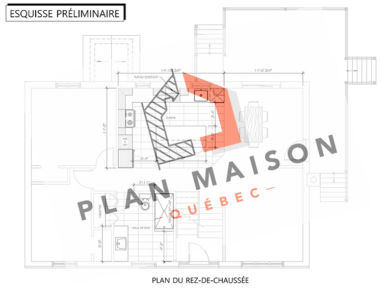 plan de maison brossard