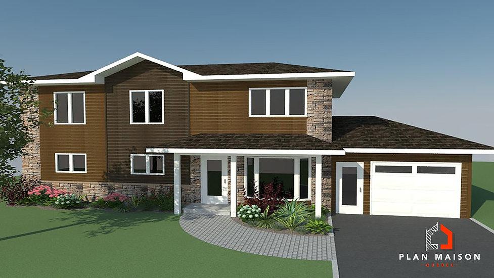 maison 2 etage avec garage levis