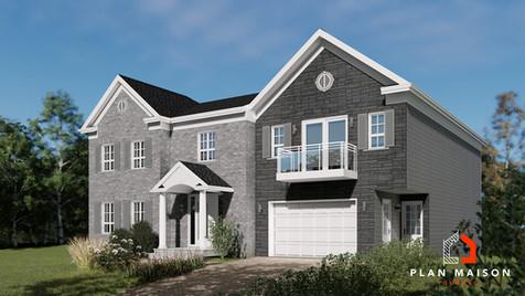 plan de maison avec garage blainville
