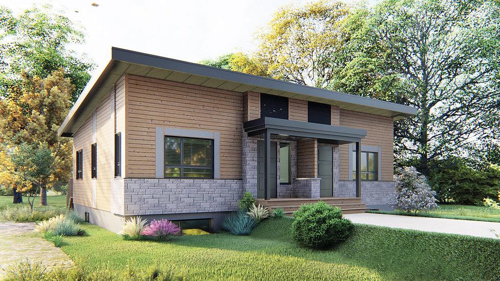 plans de maison 4 chambres