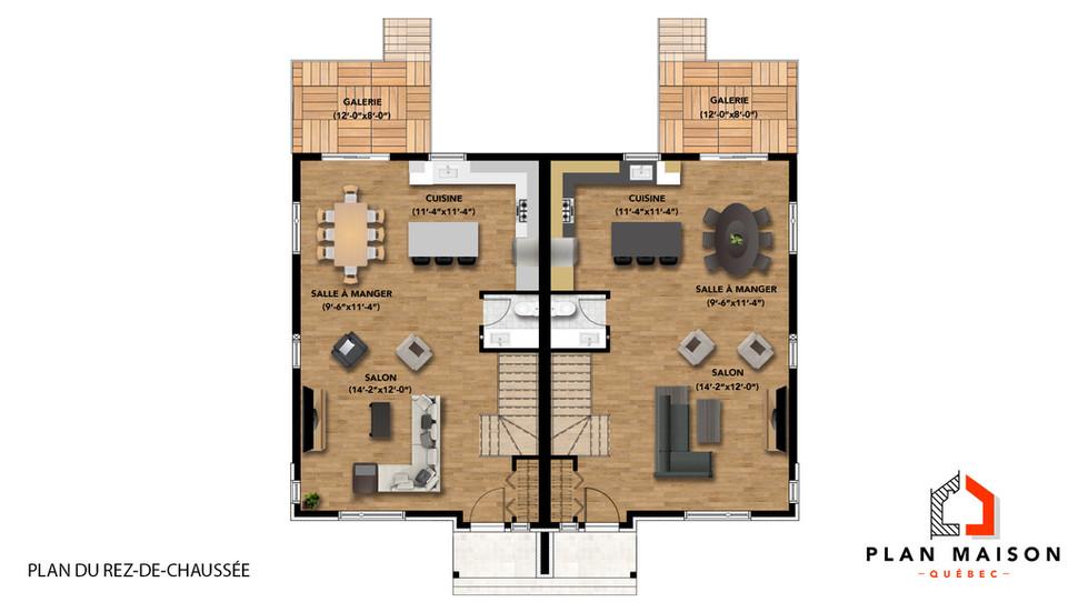modele maison contemporaine