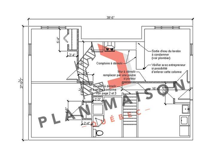 plan de maison quebec