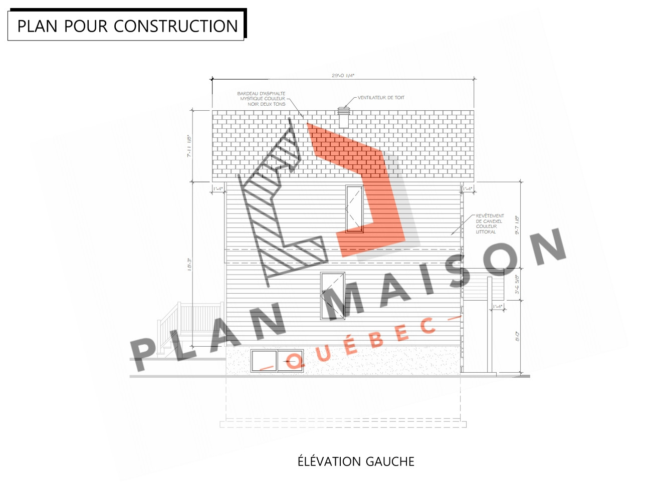 plan de maison lanaudiere