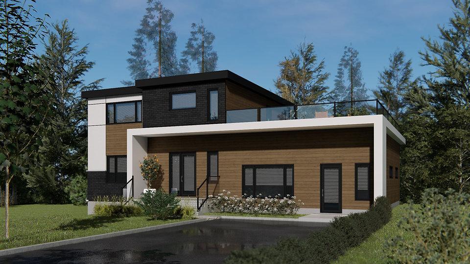 plan de maison moderne outaouais