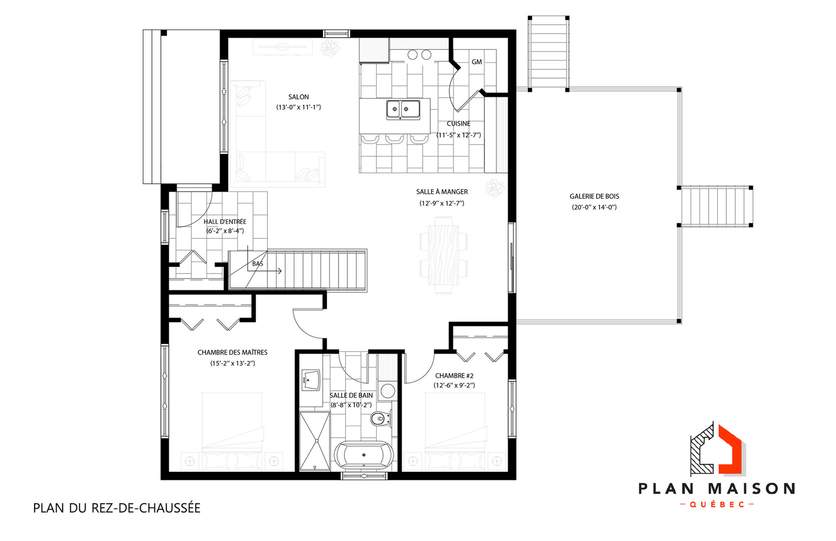 plans de maison contemporaine