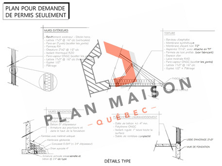 plan de maison la prairie