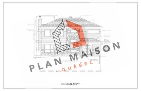 plan de maison rouyn-noranda