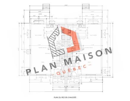 plans maison 4 chambres