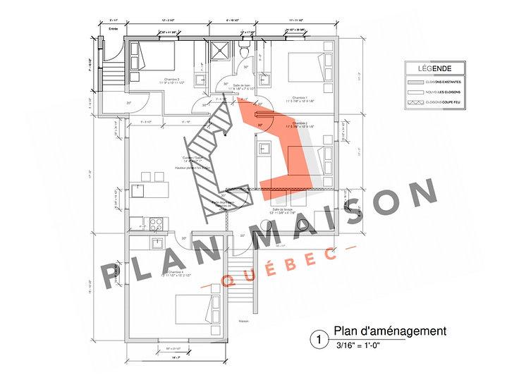 plan de maison sainte-julie
