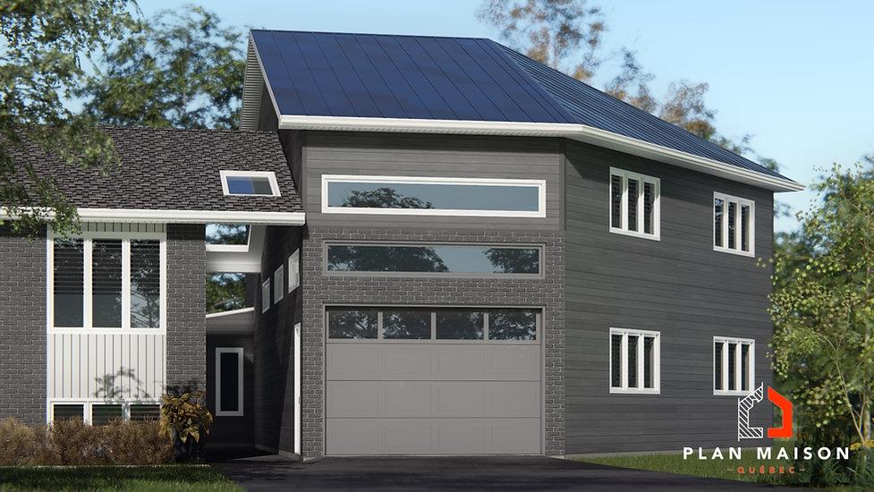 plan de maison avec garage boisbriand