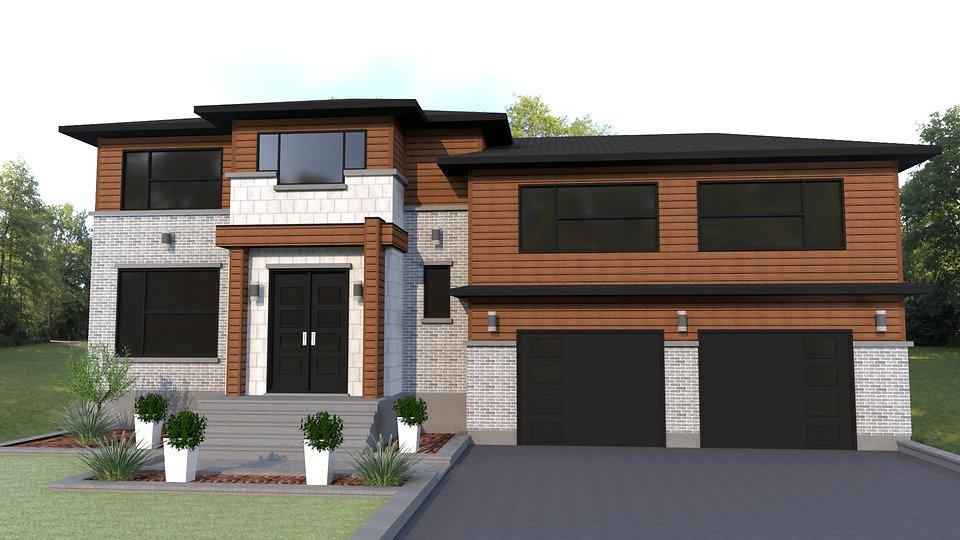 maison et plan de construction