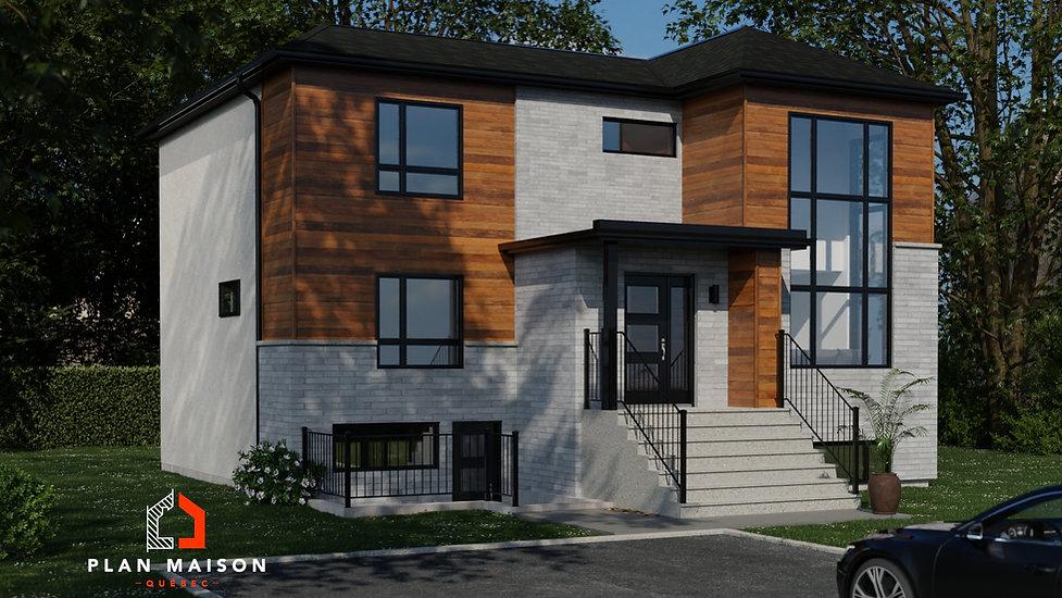 plan de maison 2 etages gatineau
