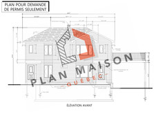 plan maison 2 etage levis