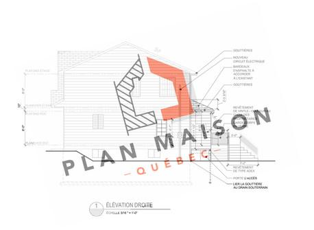 plan de maison levis