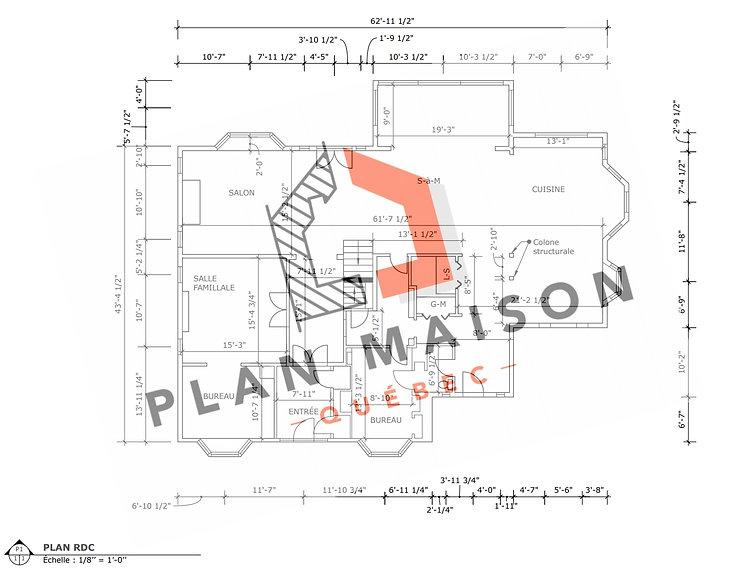 plan maison saguenay