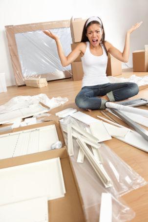 Assemble flat-pack furniture image