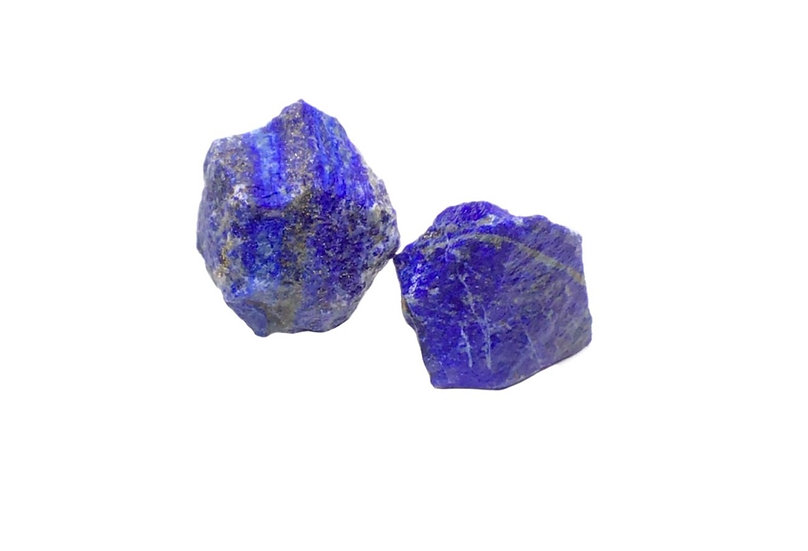 Rough Raw Blue Lapis Lazuli Crystal Stone