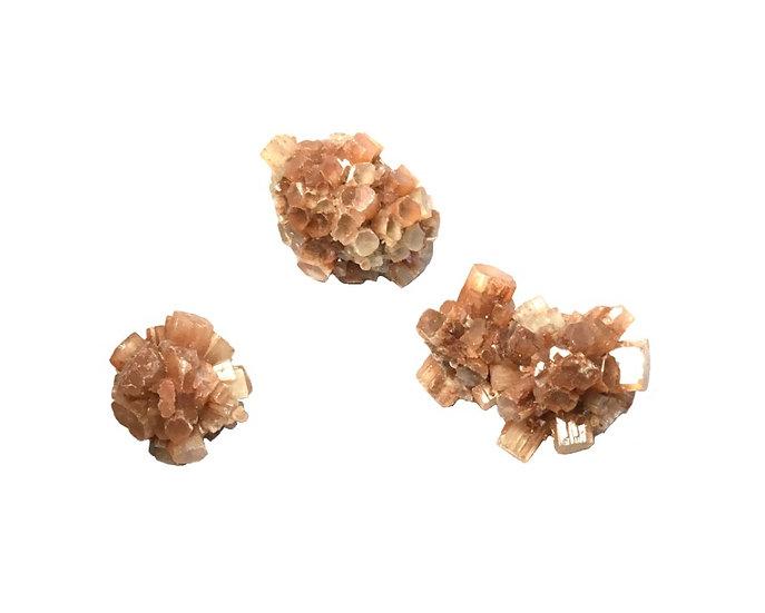 Rough Raw Brown Crystal Aragonite