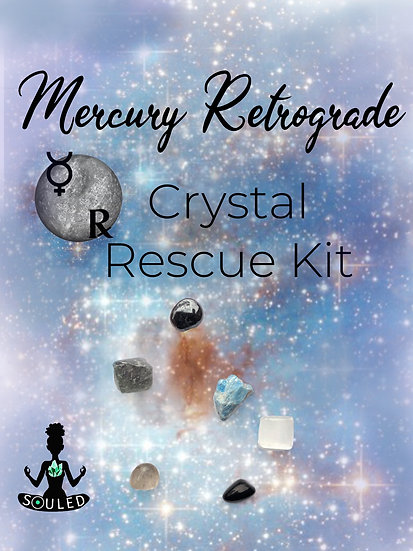 Mercury Retrograde Crystal Rescue Kit