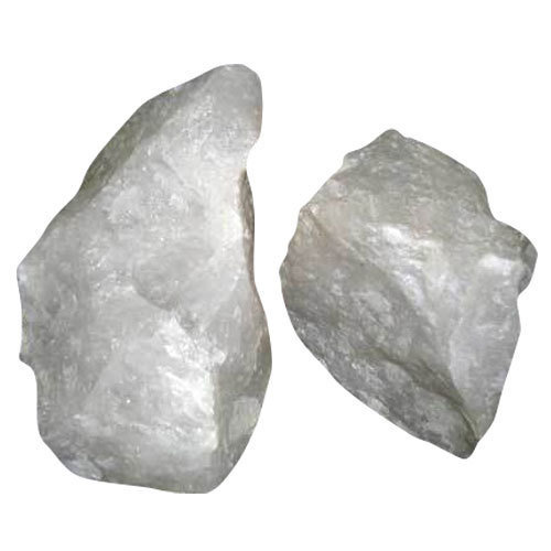 Rough Raw Snow Quartz Stone Crystal