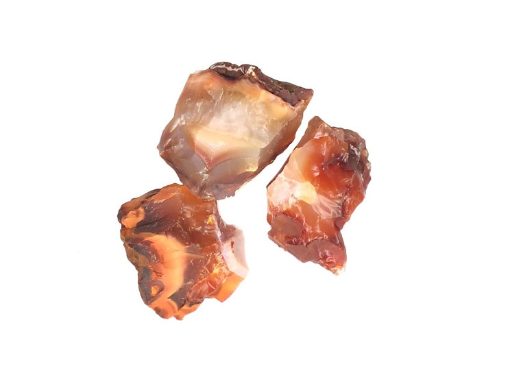 Red Rough Raw Carnelian Stone Crystal