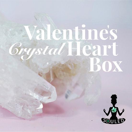 Valentine's Crystal Heart Box