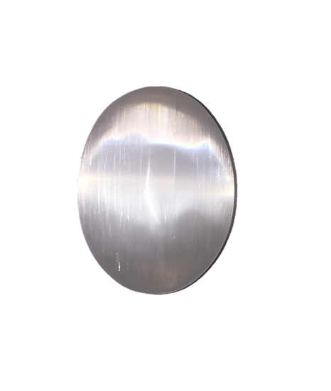 Selenite Palm Stone Crystal
