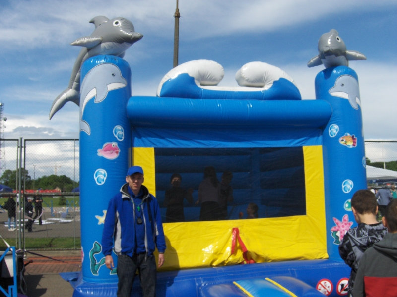 Basen Delfiny