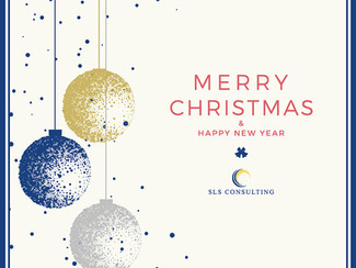 SLS Consuting wishes you all Merry Christmas and a Happy New Year!