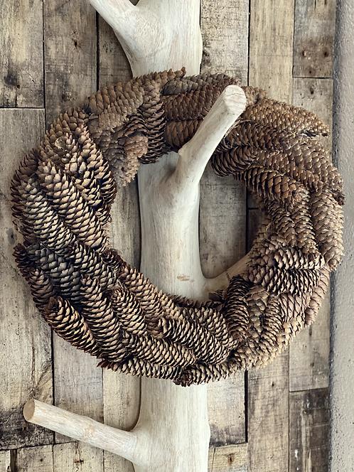 SUGAR PINE CONE WREATH