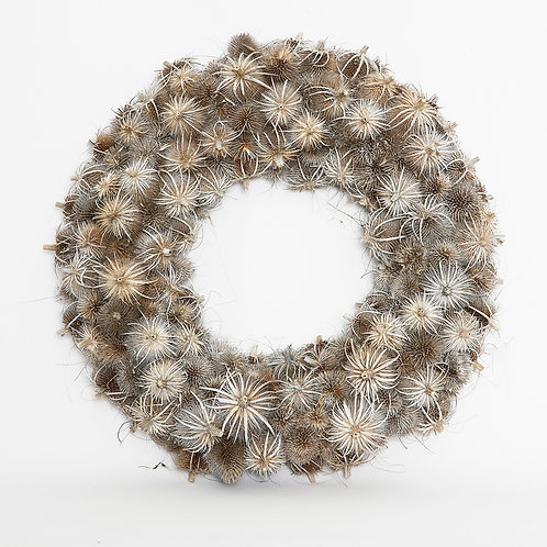 THISTLE UPSIDE DOWN WREATH