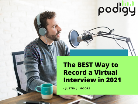 The BEST Way to Record a Virtual Interview in 2021