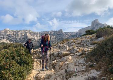 Vers la calanque de Marseilleveyre