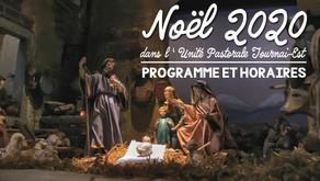 Les activités dans l'Unité Pastorale Tournai-Est pour Noël