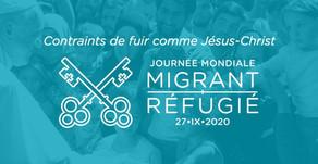 106ème journée mondiale du migrant et du réfugié 2020 - le message du pape François