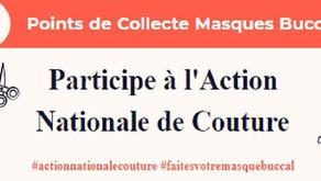 Participe à l'action Nationale de couture