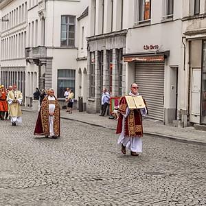 La grande procession - Tournai